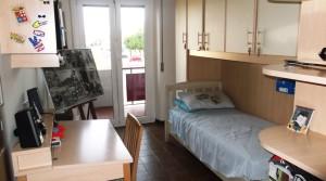 appartamento quadrilocale ristrutturato con garage e balconi porto potenza picena centro nord agenzia immobiliare parigi 06 cameretta