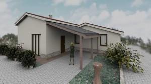 villetta nuova costruzione classe A++ agenzia immobiliare parigi Porto Potenza Picena 06