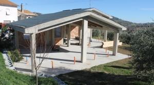 villetta nuova costruzione casa singola con giardino classe A++ agenzia immobiliare parigi Porto Potenza Picena 01