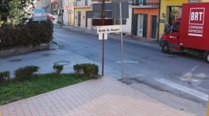 locale commerciale in affitto porto potenza picena centro più deposito al piano seminterrato e corte esclusiva agenzia immobiliare parigi di cruciani stefano 07